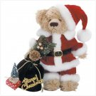 "11"" Tall Plush Santa Bear"