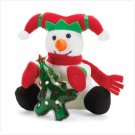 Christmas Plush Snowman with Gel