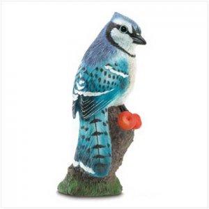 Blue Jay Figurine
