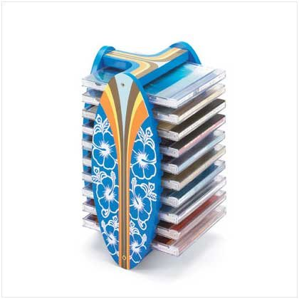 Surfboard CD Holder