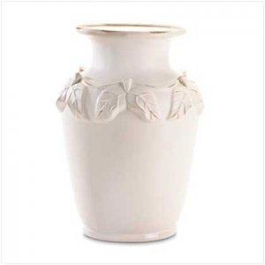 White Porcelain Urn