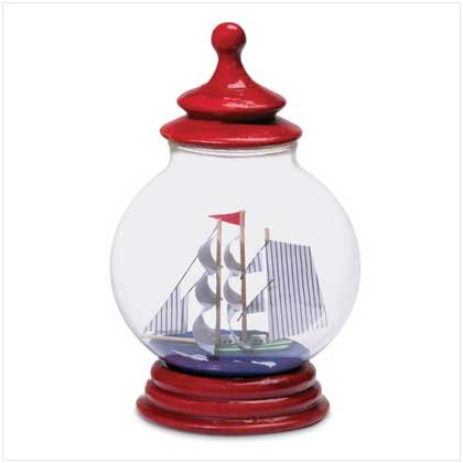 Boat in a Red Lantern