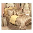 Queen Bedding Ensemble (Gold) - 30 Pc