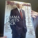ROLLING STONE magazine barack obama 2010 new
