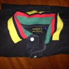 rothman's collared short sleeve m black/colored collar used