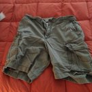 stock shorts 32 brown used