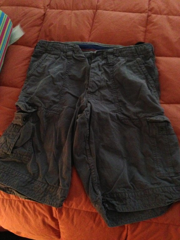 tatim vintage shorts 36 navy green used