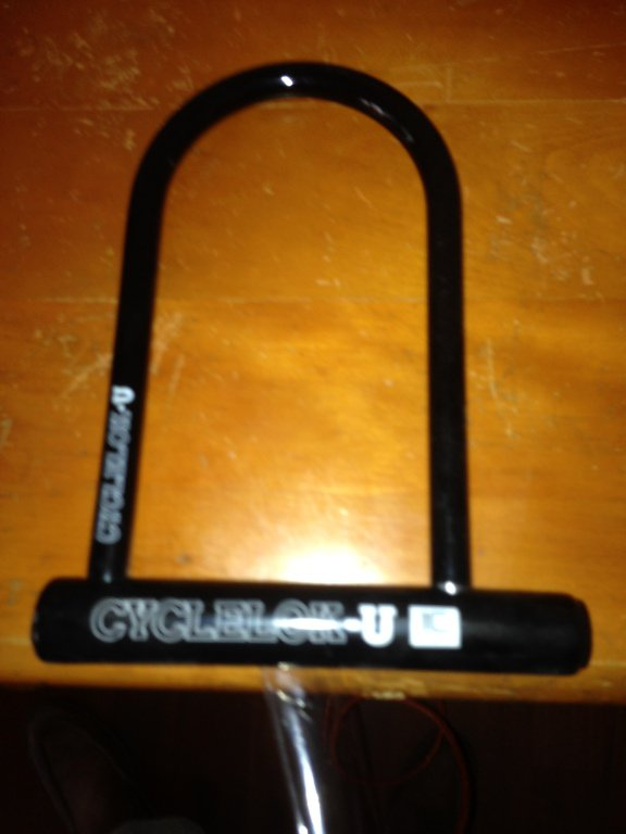 cyclelok-u bicycle lock new
