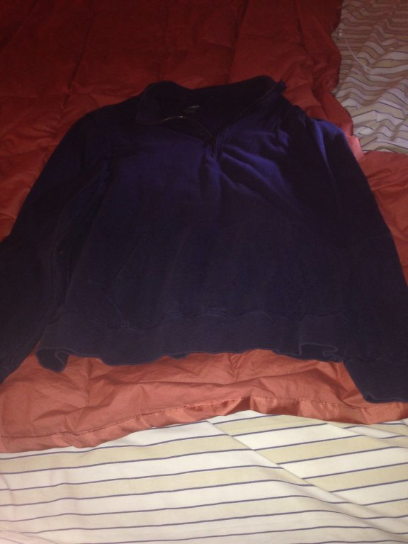 Jcrew blue sweatshirt size L