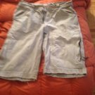 Old navy blue jeans torn shorts 32w