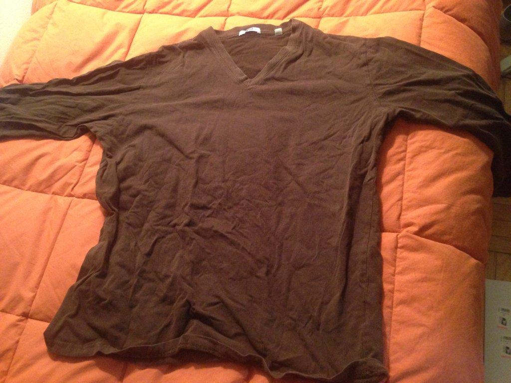 Uniqlo brown sweatshirt size L