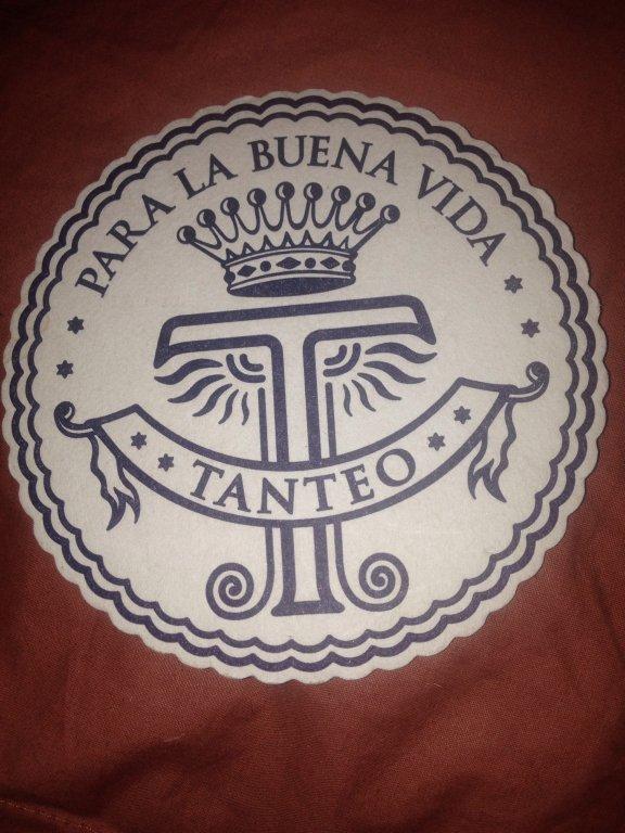 tanteo tequila beer coaster