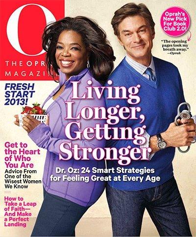 O! The Oprah magazine jan 2013- dr. oz