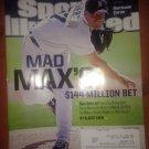 sports illustrated detroit tigers max scherzer magazine apr-2014 new