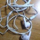 white ear bud headphones new