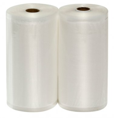 2 FoodVacBags 8x50 Roll of Universal Food Storage Bags for all Vacuum Sealers