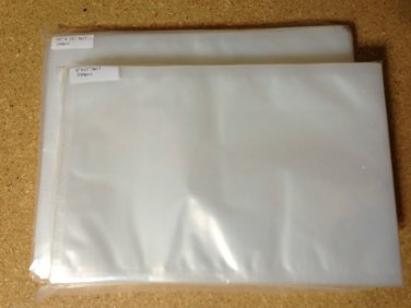 """500 VacMaster CHAMBER SEALER POUCHES/BAGS 250 10""""X13"""" and 250 8""""X12"""" 3 mil"""