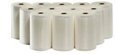 "12 Weston 8""X50' Rolls Food Storage Vacuum Sealer Bags! BULK MONEY SAVER!"