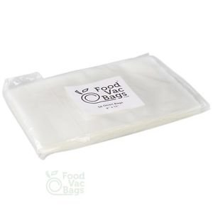 "50 QUART 8""x12"" Food Storage Bags for Vacuum Sealers! BIG Money Saver!"