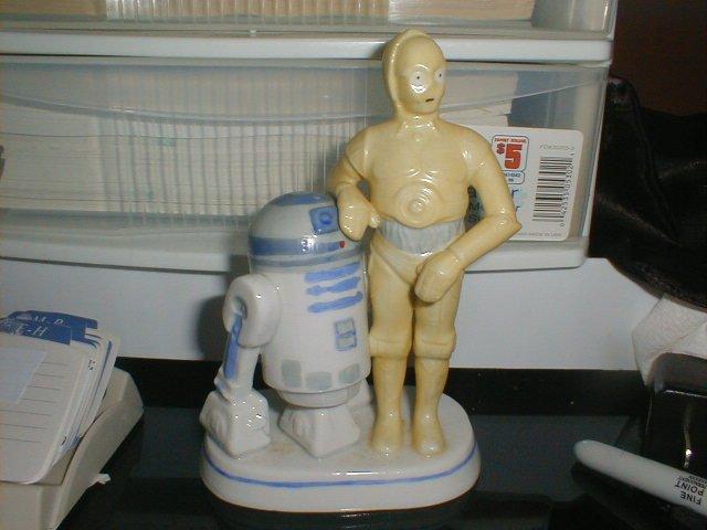 RARE Vintage C3po & R2D2 SIGMA figurine