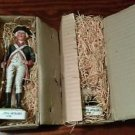 2 Ceramic Continental Cavalry 1799 Colonial Soldier Post American Revolution