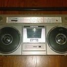 Ultra Rare Vintage Nippon Boombox SW MW CASSETTE / RADIO MODEL FS-5500 Japan 220