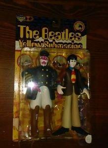 1999 MCFARLANE TOYS--THE BEATLES YELLOW SUBMARINE--PAUL & CAPTAIN FRED FIGURES