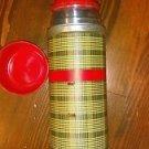 Vintage Aladdin NO WM93 Quart Thermos Best Buy PLAID with LID