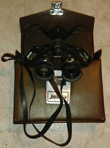 Vintage Jason Commander 7 x 35 Brown Binoculars w/ Brown Case 143 action tested!
