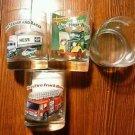 HESS TRUCK  GLASSES - Set of 4 - 1996
