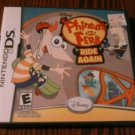 PHINEAS AND FERB NDS Nintendo DS Game BRAND NEW FACTORY SEALED Fast Ship!