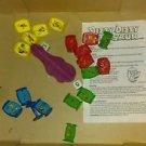 VINTAGE 1993 100% COMPLETE DIZZY DIZZY DINOSAUR BOARD GAME PRESSMAN WORKS