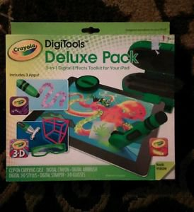 Crayola DigiTools Deluxe Creativity Pack - Digital Toolkit for iPad
