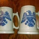 pfaltzgraff eagle yorktowne retired 286M tankard mugs set of 2