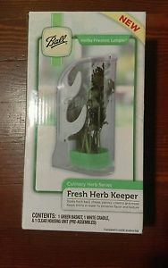A brand new sealed Ball fresh herb keeper.