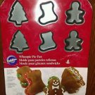 "New Whoopie Pie Pan 3.35""X0.5""-12 Cavity Tree, Stocking and Gingerbread baking"