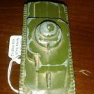 TOOTSIETOY WW II   METAL GREEN ARMY TANK  with rubber Wheels in great condition