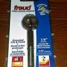 "FREUD PB-001 1/4"" Forstner Bit Shear.    New in Package!    Fast Shipping!"