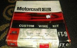 VTG 70s Ford Motorcraft Custom Wire Kit FT-9 Sparkplug wires 1974 Mustang 2  NOS