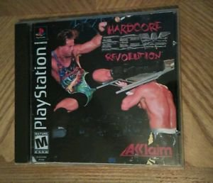 ECW: Hardcore Revolution Sony PlayStation 1 PS1 Complete FREE Shipping!