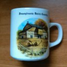 Vintage Pennsylvania Dutch Country Coffee Mug By Walter J. Seibold