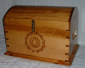 Beauitful Dovetailed Trunk...