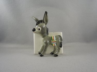 Vintage Donkey Planter Reliable Glass ware Collectible