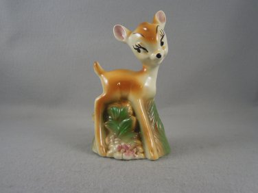 Vintage Disney Bambi Figurine Bank