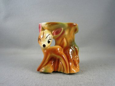 Disney Bambi Planter Vintage Collectible