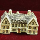 Trey Pottery Britain Miniature Haycock Inn Norfolk England