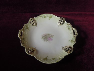 BRC Rosenthal Reticulated China Dish  Moliere Germany