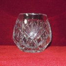 Glass Rose Bowl Vase Leaves Radiant Star