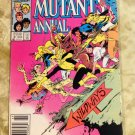 The New Mutants Annual #2 - 1st Appearance of Psylocke