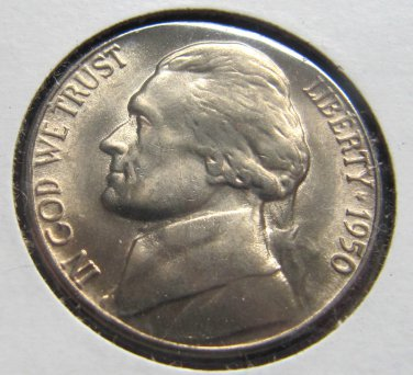 1950d BU with Great steps key-date nickel